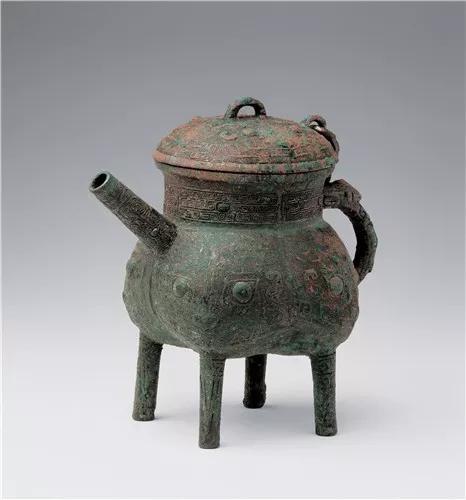 西周·徙遽(仆)铜盉,甘肃省博物馆藏