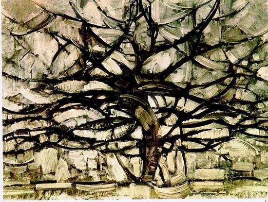 《灰色的树》(1912)