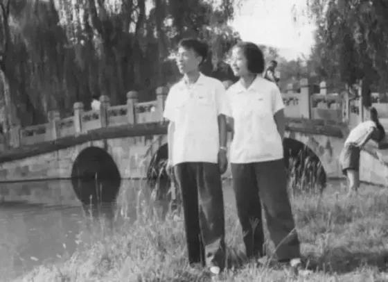 樊锦诗与丈夫彭金章