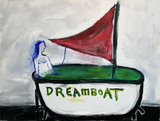 """Lawrence Ferlinghetti, """"Dreamboat"""" (2006)"""