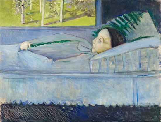 死亡与春天 1893年 油彩、油画
