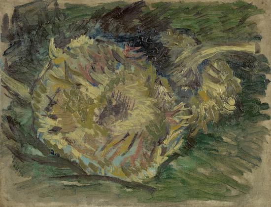 梵高,《向日葵的种子》,1887年8至9月于巴黎,阿姆斯特丹梵高美术馆藏