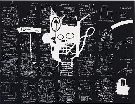 拍品编号821尚·米榭·巴斯奇亚(1960-1988)《无题》