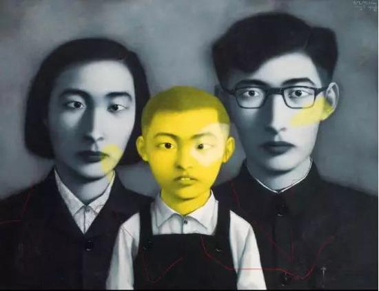 中国嘉德——张晓刚《1995年 血缘——大家庭》