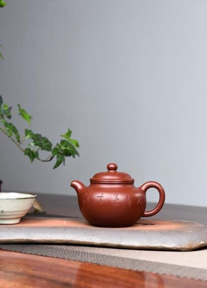 范利英紫砂壺--掇只