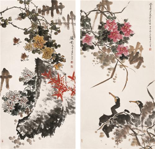 读雷鸣东花鸟画有感