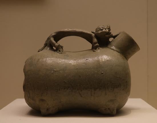 三国青瓷虎子 国家博物馆