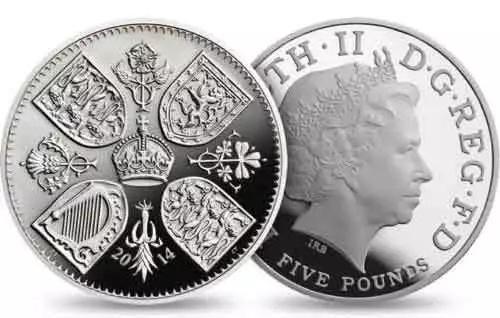 乔治两岁生日时、五岁生日时,造币厂都铸造了纪念币。