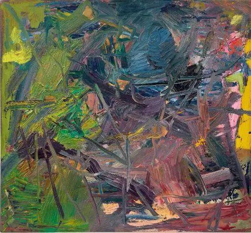 里希特《抽象画432-4》,估价为400万—500万港币