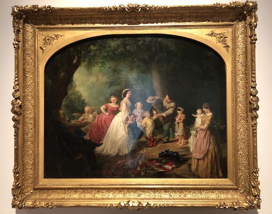 莉莉·马丁·斯宾塞《红白蓝之家》约1867—1868年 泰拉美国艺术基金会