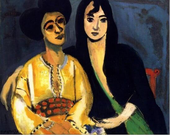 Henri Matisse,Aicha and Laurette,1917