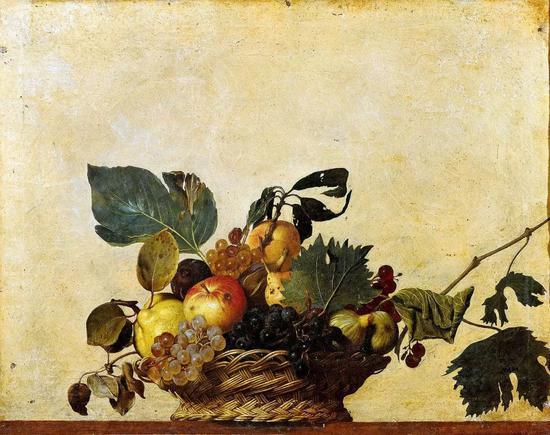 卡拉瓦乔《一篮水果》