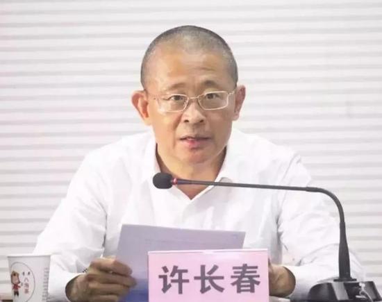 中共惠安县委组织部长许长春