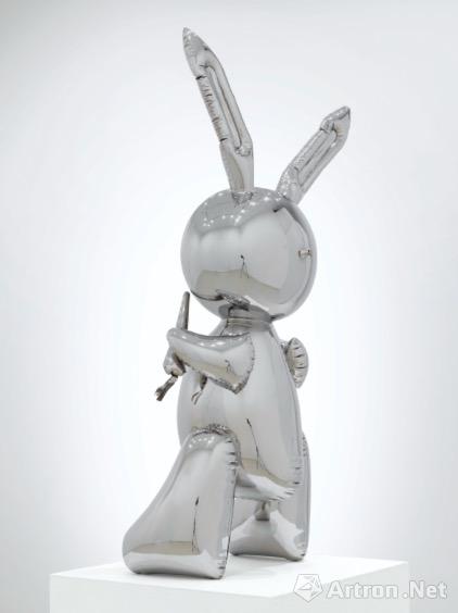 杰夫・昆斯《兔子》侧面