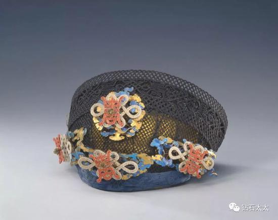 嵌米珠珊瑚素钿子清,故宫博物院藏品