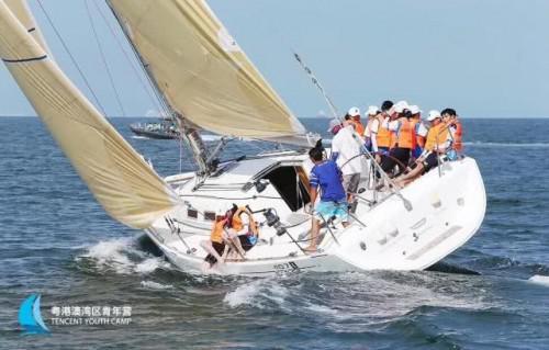 粵港澳青年體驗中國杯帆船賽