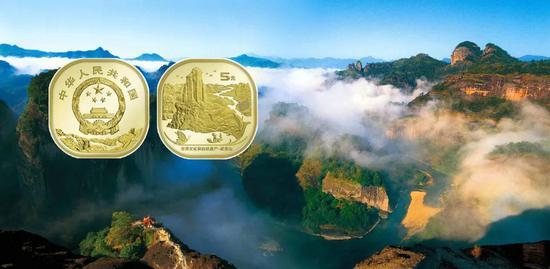 武夷山幣瘋漲到20元 總計僅275萬套