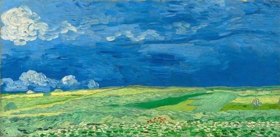 梵高画作|到自然中去爱——梵高和他的四季