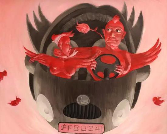 旅友1号   油画  2010年11月