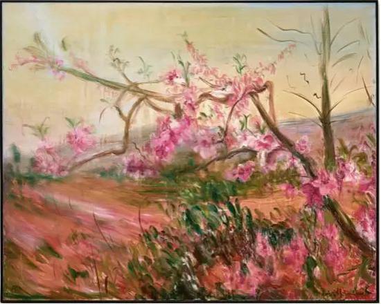 周春芽《通往龙泉山的小路》,977万港币成交