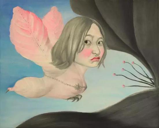 花香   油画  2011年3月