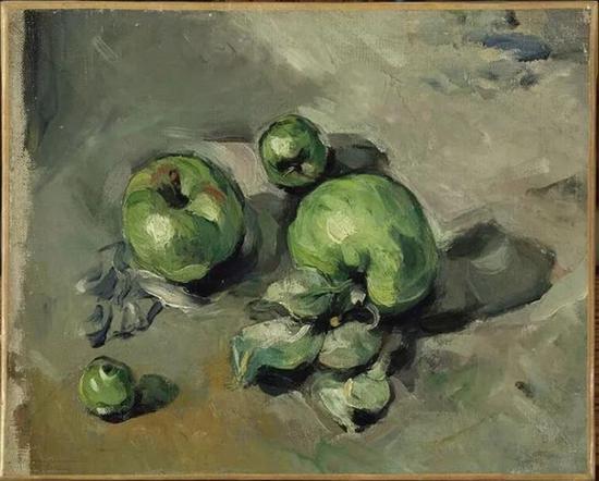 《绿苹果》(Pommes vertes)