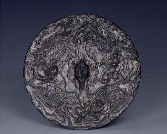 王子乔吹笙引凤铜镜 中国国家博物馆藏