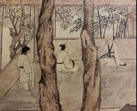 古树茅堂 人物部分 台北故宫博物院藏