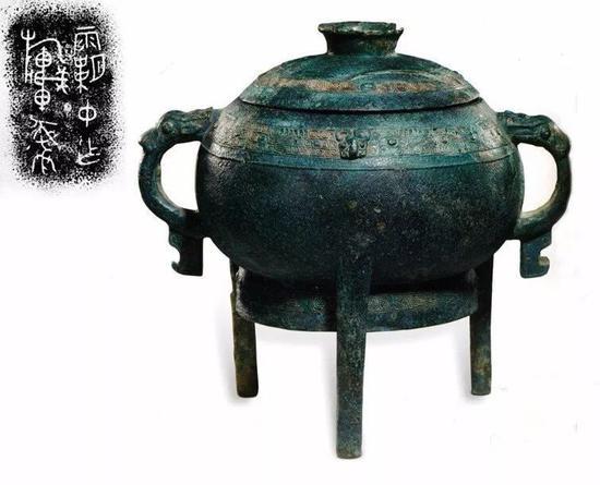霸字铭文青铜器