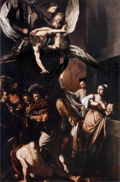 卡拉瓦乔,《七宗罪》,1607年