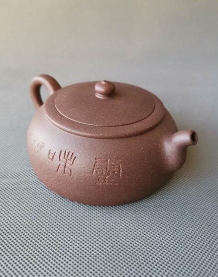 程曙紫砂壶作品--古韵新瓯