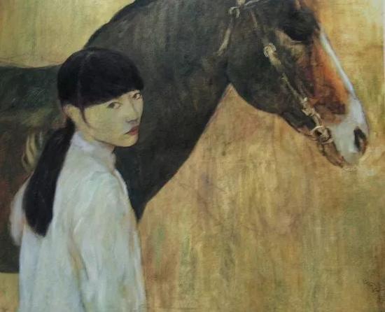 《少女与马》