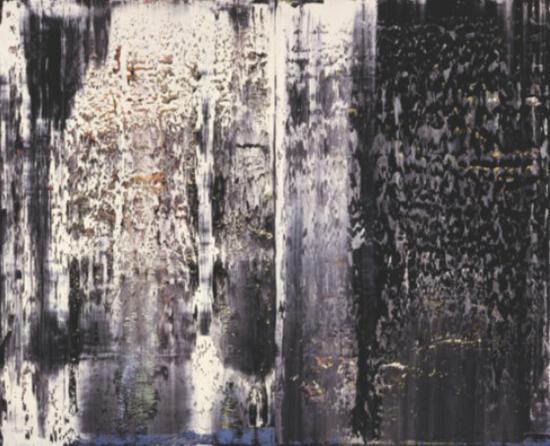 里希特《一月》300x400cm 1989年 圣路易斯美术馆收藏
