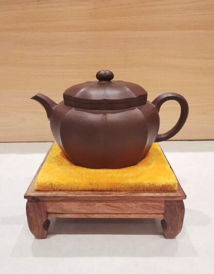 程曙紫砂壶作品--菱花觞(19年嘉德秋拍品)