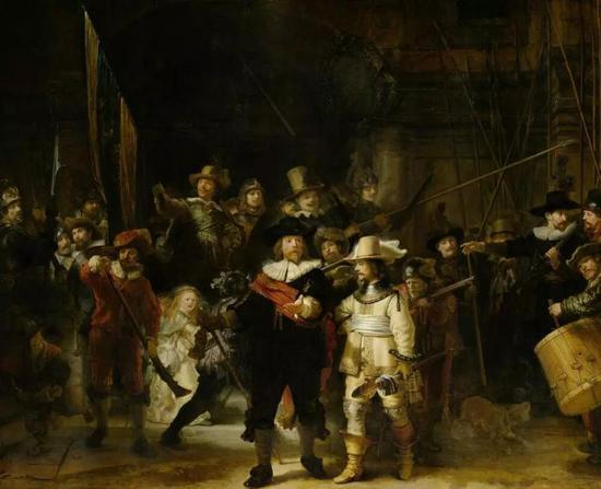 'Night Watch', 1642