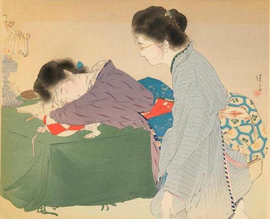日本浮世绘太田纪念美术馆的美人画展