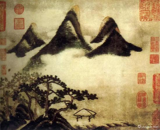 """康熙瓷上的""""米氏云山"""""""