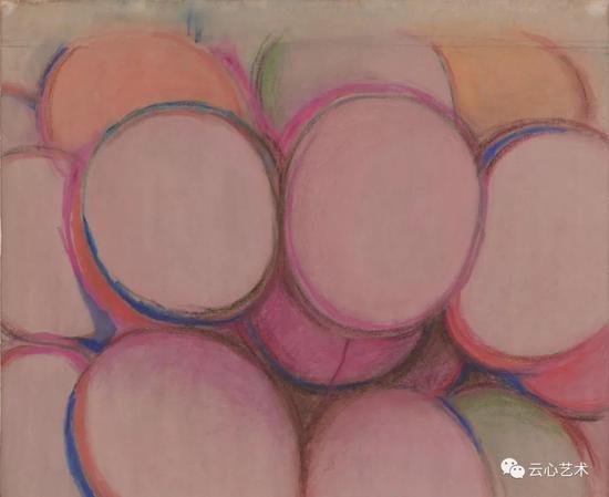 馬兆琳,《彩色氣球》,紙本設色,55×40cm