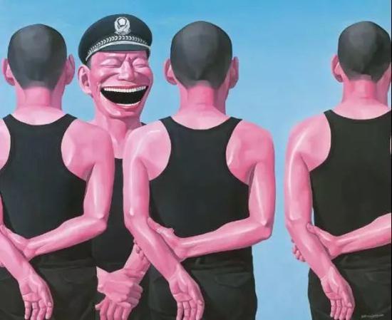 周春芽《盈盈含笑》,估价300—500万港币,成交价432万港币。