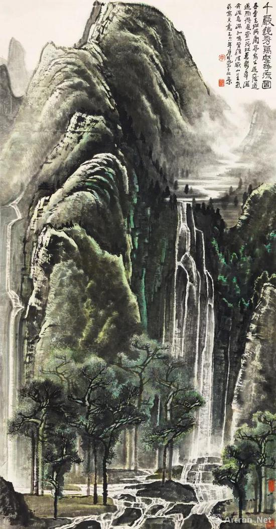 李可染《千岩竞秀万壑争流图》1.265亿元中国嘉德