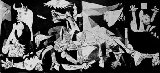壁画《格尔尼卡》