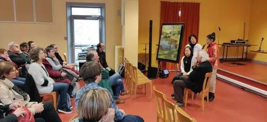 与法国知名艺术家Akos SZABO先生中法艺术座谈会