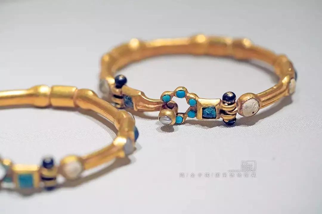 金手镯 隋 国家博物馆藏