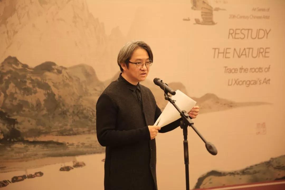 北京画院副院长、北京画院美术馆馆长吴洪亮先生主持开幕
