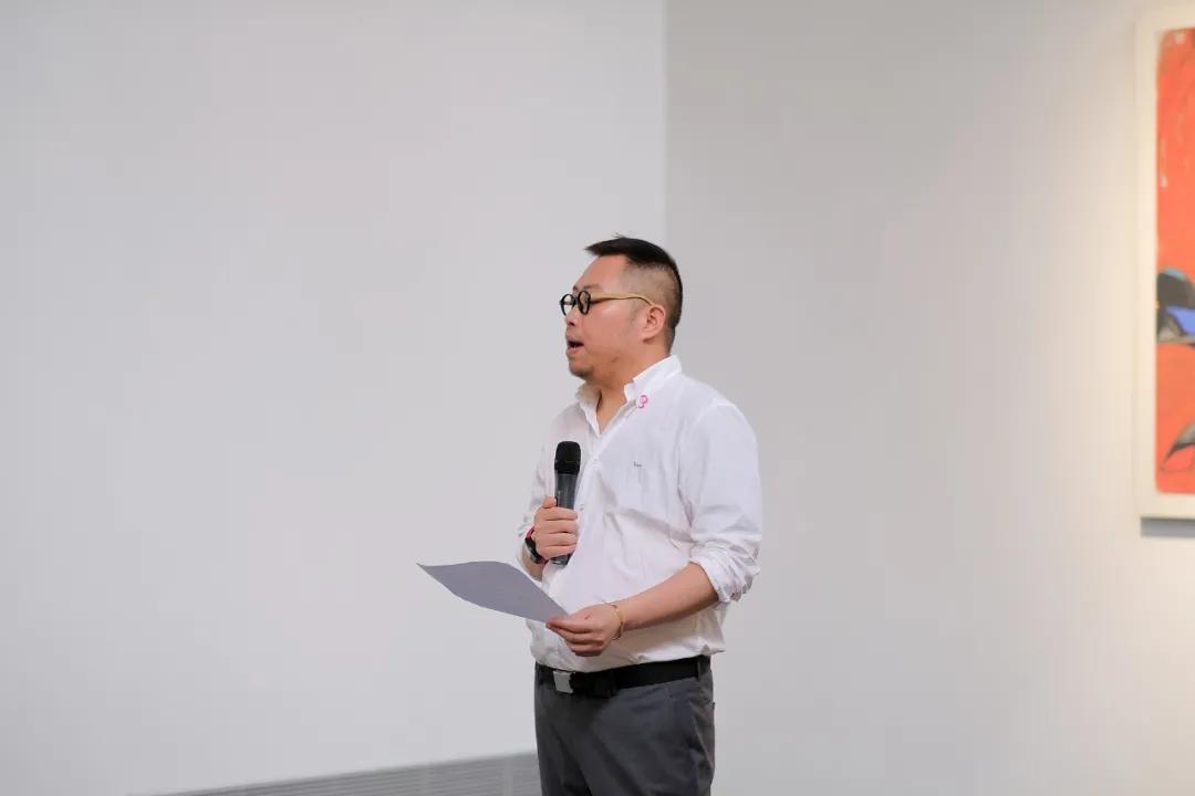 大明艺术基金负责人吴晶晶先生致辞
