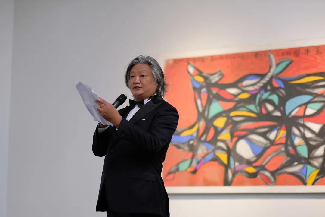 艺术家孟昌明先生致辞