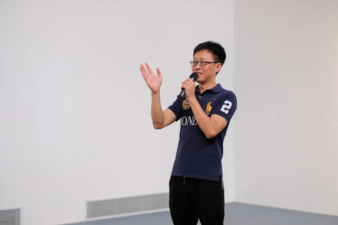 朗空美术馆馆长李征先生致辞