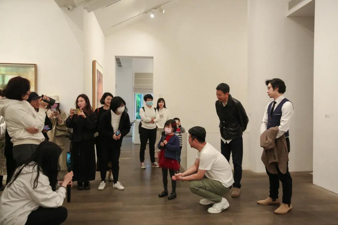在年代美术馆学习五年的小观众分享收获