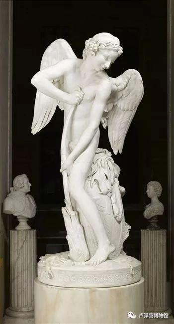 《丘比特将大力士的狼牙棒做成弓》 L'Amour taillant son arc dans la massue d'Hercule