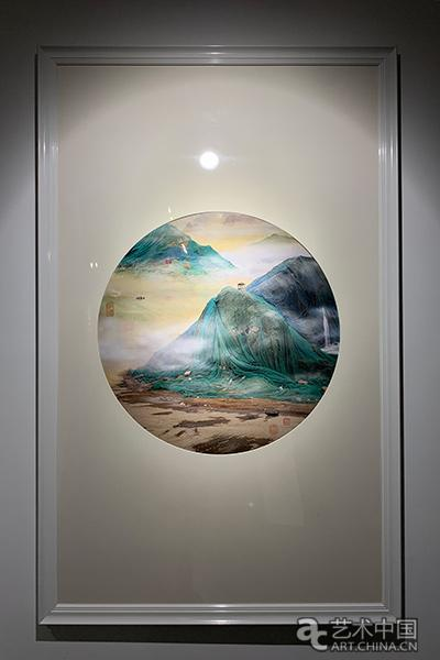 姚璐-行春古渡图-数码摄影-2008年